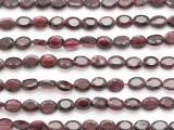 Garnet Faceted Oval Gemstone Beads 5-6mm (GS4882)