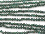 Emerald Graduated Round Gemstone Beads 2-5mm (GS4887)
