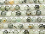 Prehnite Faceted Round Gemstone Beads 8mm (GS4900)