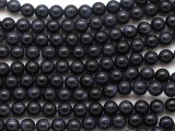 Blue Goldstone Round Gemstone Beads 6mm (GS4901)