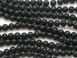 Green Goldstone Round Gemstone Beads 6mm (GS4902)