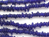 Blue Irregular Glass Beads 5-10mm (JV1318)