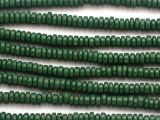 Green Heishi Glass Beads 4-5mm (JV1341)