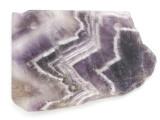 Amethyst Gemstone Slab Pendant (GSP2583)