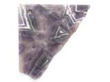 Amethyst Gemstone Slab Pendant (GSP2584)
