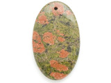 Unakite Gemstone Pendant 60mm (GSP2598)