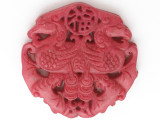 Carved Jade Pendant 67mm (GSP2738)