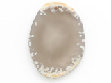 Natural Agate Gemstone Slab Pendant 50mm (GSP2756)