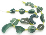 Afghan Ancient Roman Glass Beads (AF1934)
