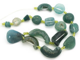 Afghan Ancient Roman Glass Beads (AF1936)