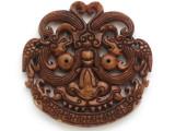 Carved Jade Pendant 67mm (GSP2768)
