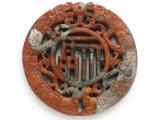Carved Jade Pendant 68mm (GSP2771)
