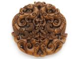 Carved Jade Pendant 70mm (GSP2778)