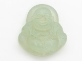 Buddha Carved Jade Pendant 41mm (GSP2791)