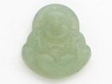 Buddha Carved Jade Pendant 35mm (GSP2804)