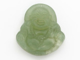Buddha Carved Jade Pendant 35mm (GSP2805)