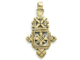 Coptic Cross Pendant - 55mm (CCP712)