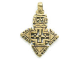 Coptic Cross Pendant - 58mm (CCP716)
