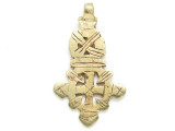 Coptic Cross Pendant - 63mm (CCP731)