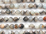 Montana Agate Faceted Round Gemstone Beads 8mm (GS4926)