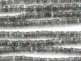 Labradorite Heishi Gemstone Beads 4mm (GS4972)