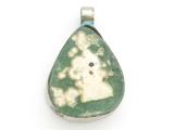 Afghan Ancient Roman Glass Pendant 30mm (AF960)