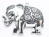 Elephant - Pewter Pendant 72mm (PW953)