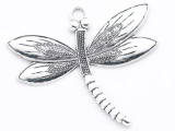 Dragonfly - Pewter Pendant 66mm (PW954)