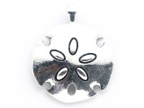 Sand Dollar - Pewter Pendant 54mm (PW955)