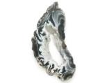 Agate Geode Slice Pendant 53mm (GSP2845)