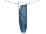 Kyanite & Pewter Gemstone Pendant 54mm (GSP2868)