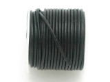 Black Leather Cord 1.5mm - 10 Meter Spool (LR146)