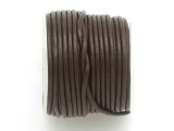 Dark Brown Leather Cord 1.5mm - 10 Meter Spool (LR149)