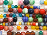 Graduated Round Wedding Beads - Mali (RF832)