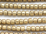 Brass Rondelle Beads 8mm - Ethiopia (ME5717)