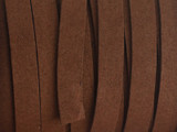 "Russet Brown Synthetic Suede Lace 9mm - 36"" (LR139)"
