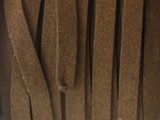 "Brown Synthetic Suede Lace 7mm - 36"" (LR143)"