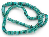 Turquoise Graduated Disc Beads 5-12mm (TUR1427)