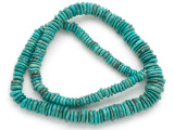 Turquoise Graduated Disc Beads 5-12mm (TUR1428)