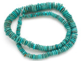 Turquoise Graduated Disc Beads 5-12mm (TUR1429)
