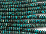 Turquoise Saucer Beads 6mm (TUR1438)