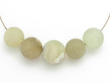 Jade Round Gemstone Beads 17-20mm - Set of 5 (GS4983)