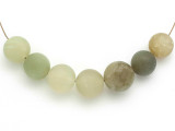 Jade Round Gemstone Beads 13-16mm - Set of 7 (GS4987)