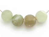 Jade Round Gemstone Beads 20mm - Set of 4 (GS4994)