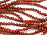 Red Jasper Round Gemstone Beads 4-5mm (GS5011)