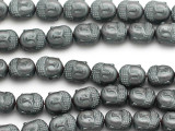 Hematite Buddha Gemstone Beads 10mm (GS5013)