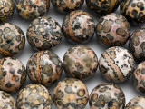 Leopardskin Jasper Round Gemstone Beads 20mm (GS5050)