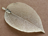 Leaf Pendant - Gold 77mm (AP2123)