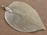 Leaf Pendant - Gold 76mm (AP2146)