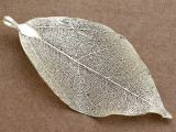 Leaf Pendant - Gold 78mm (AP2172)